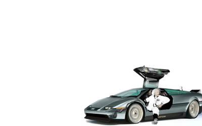 Back to the Future Delorean by dub