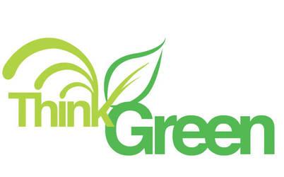 Think Green Logo by dub