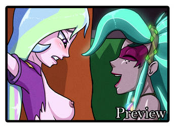 Nightmare of Everfree - Page 3 PREVIEW by Nixoclash