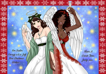 Christmas Gift - Merry Pacificator Angels~ by HealerCharm