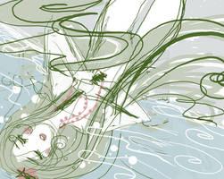 death of little mermaid by Blush-Art