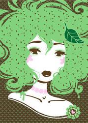 Miss Mint Chocolate Chip by Blush-Art
