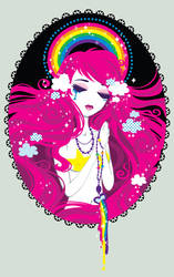 Hail Rainbow, Full of grace by Blush-Art