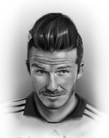 David Beckham by MosiKashi