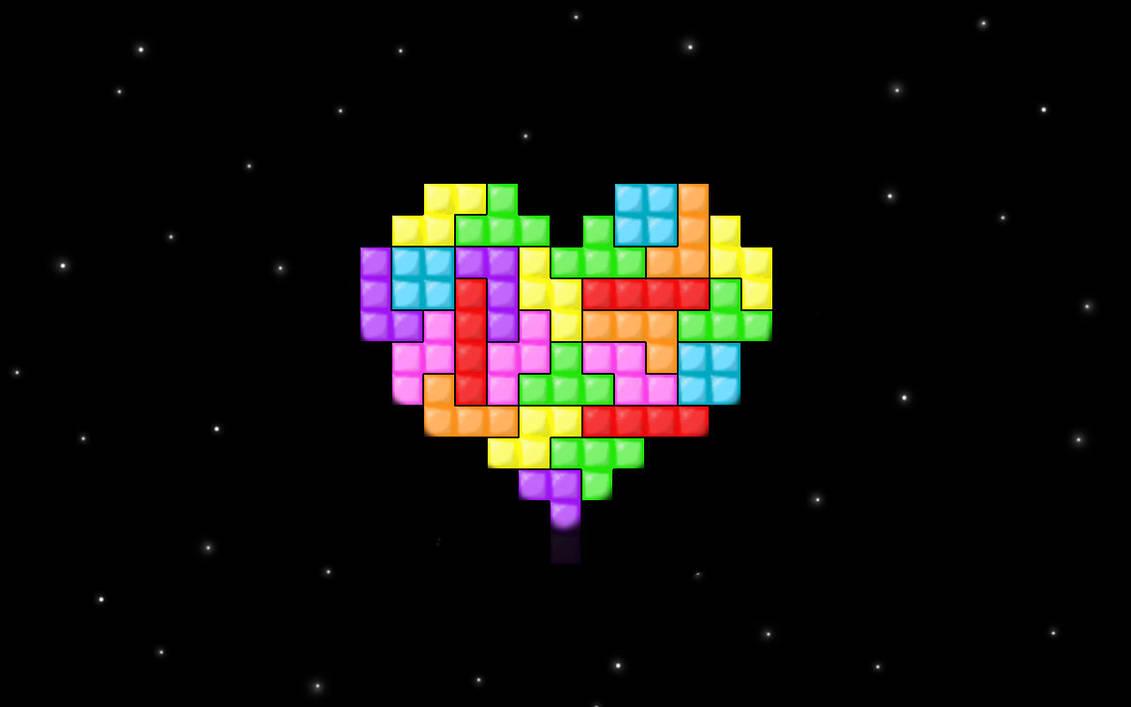 Love for Tetris by CookiemagiK
