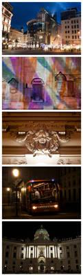 Vienna at night by CookiemagiK