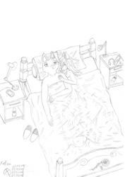 A night of insomnia by Xefino