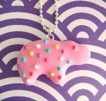 Hippo Animal Cookie by KawaiiCulture