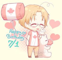 Happy Canada day! -2018- by xKuro-Usagi