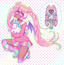 #Pastelgirl by xKuro-Usagi