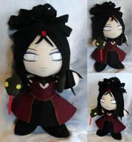 Commission, Mini Plushie Kimiko by ThePlushieLady