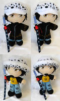 Commission, Plushie Trafalgar Law by ThePlushieLady