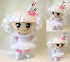 Gift, Chibi Plushie Toasty Sweet Fluff by ThePlushieLady