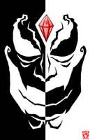 evil face by Chris-V981