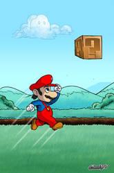 super mario: question box by Chris-V981