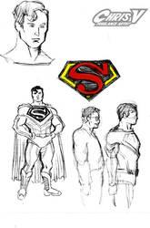 superman prelim 1 by Chris-V981