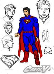superman prelim 2 by Chris-V981