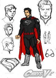 superman prelim 2a by Chris-V981
