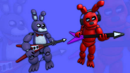FNAF Doctorlysum meets Bonnie screensaver by TJ-Fowkes