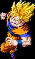 SSJ Goku Buu Saga by BoScha196