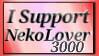 I Support NekoLover3000 by shaygoyle