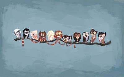 Pu-sama's Doctor Hoo Wallpaper by hewtab