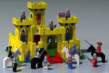 Legoland Castle by JeremyMallin