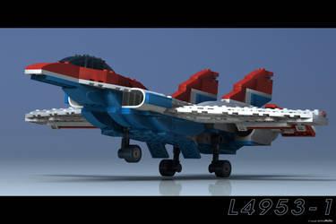 Lego Landing by JeremyMallin