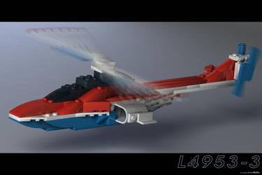 Lego Copter by JeremyMallin
