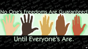 Hands For Freedom by JeremyMallin