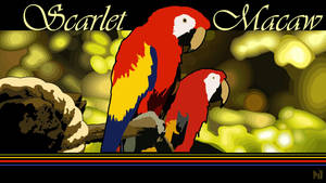 Scarlet Macaws by JeremyMallin