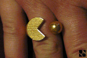 Pac Man Ring by JeremyMallin