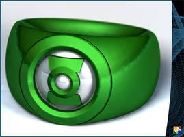 Green Lantern by JeremyMallin