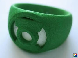 Green Lantern Cosplay Rings by JeremyMallin