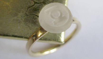 Superhero Solitaire Arisia Engagement Ring by JeremyMallin