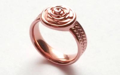 Rose Signet Ring by JeremyMallin