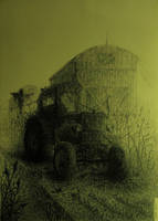 Tractor by damianparlicki