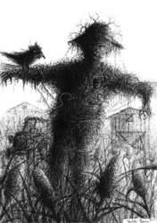 scarecrow by damianparlicki