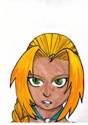 Female Elric by jollyroger11