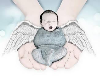 Sleepy Angel by Reidy68