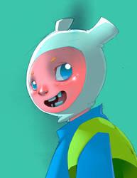 Adventure Time: Finn by bernce