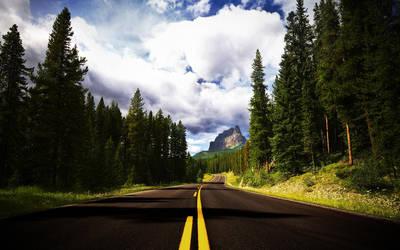 Road To Castle Mountain by LiLmEgZ97