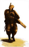 Firewarrior by MasterAlighieri