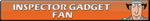 Inspector Gadget Fan | Button by Howie62