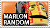 Marlon Random Stamp by Howie62