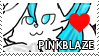 Pinkblaze Stamp by Howie62