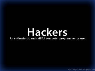 Hacker Meaning - mytrickytricks.blogspot.com by sanketmisal