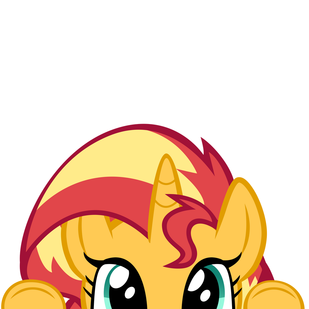 i_see_you__sunset_shimmer__by_mrkat7214_