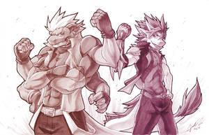 Awesome Zai x Kumo Clash by silverava