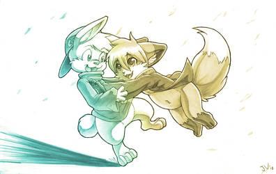 Cute IanKeaton Hugs by silverava